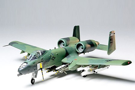 model planes,model airplane,A-10 Thunderbolt II -- Plastic Model Airplane Kit -- 1/48 Scale -- #61028