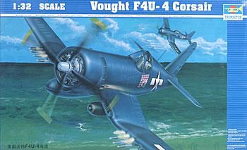 model airplane,plastic airplane model,Vought F4UF Corsair -- Plastic Model Airplane -- 1/32 Scale -- #02222